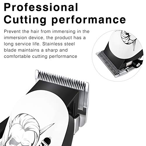 ~ Surker Hair Clippers for Men Cordless Hair Trimmer Beard Trimmer Haircut Gro