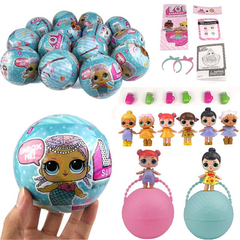 Toys For Girls Lol : Surprise lol doll pcs set egg toy end pm