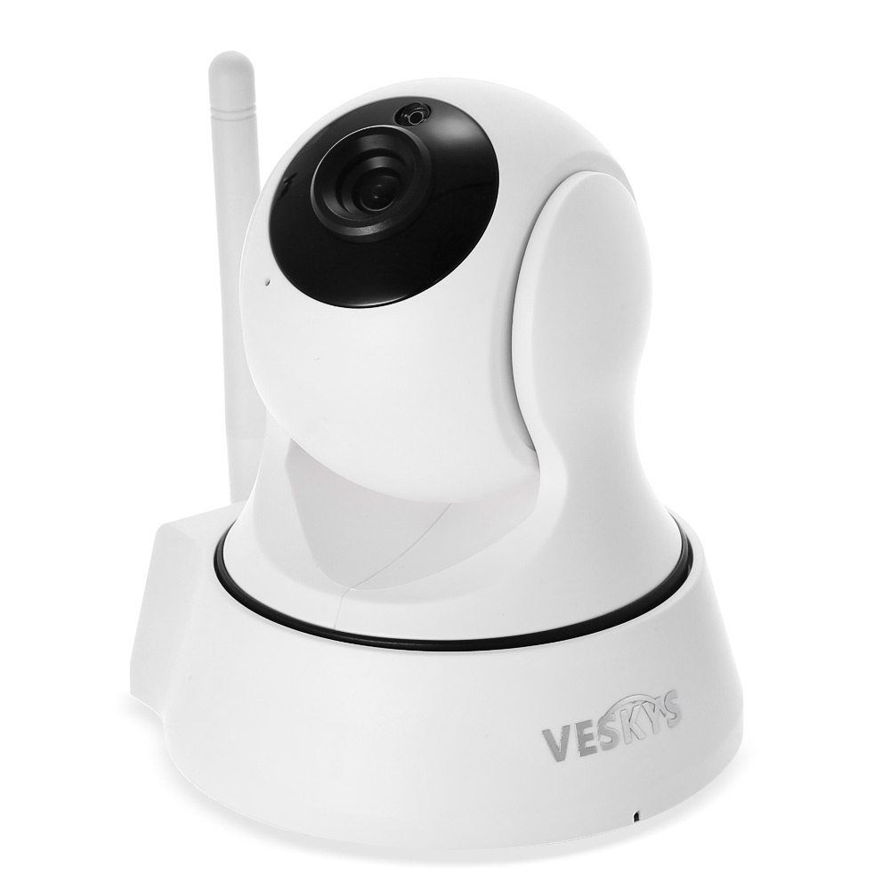 Surveillance Cameras - VESKYS 720p 1.0mp WIFI Network Ip Camera 75 Deg..