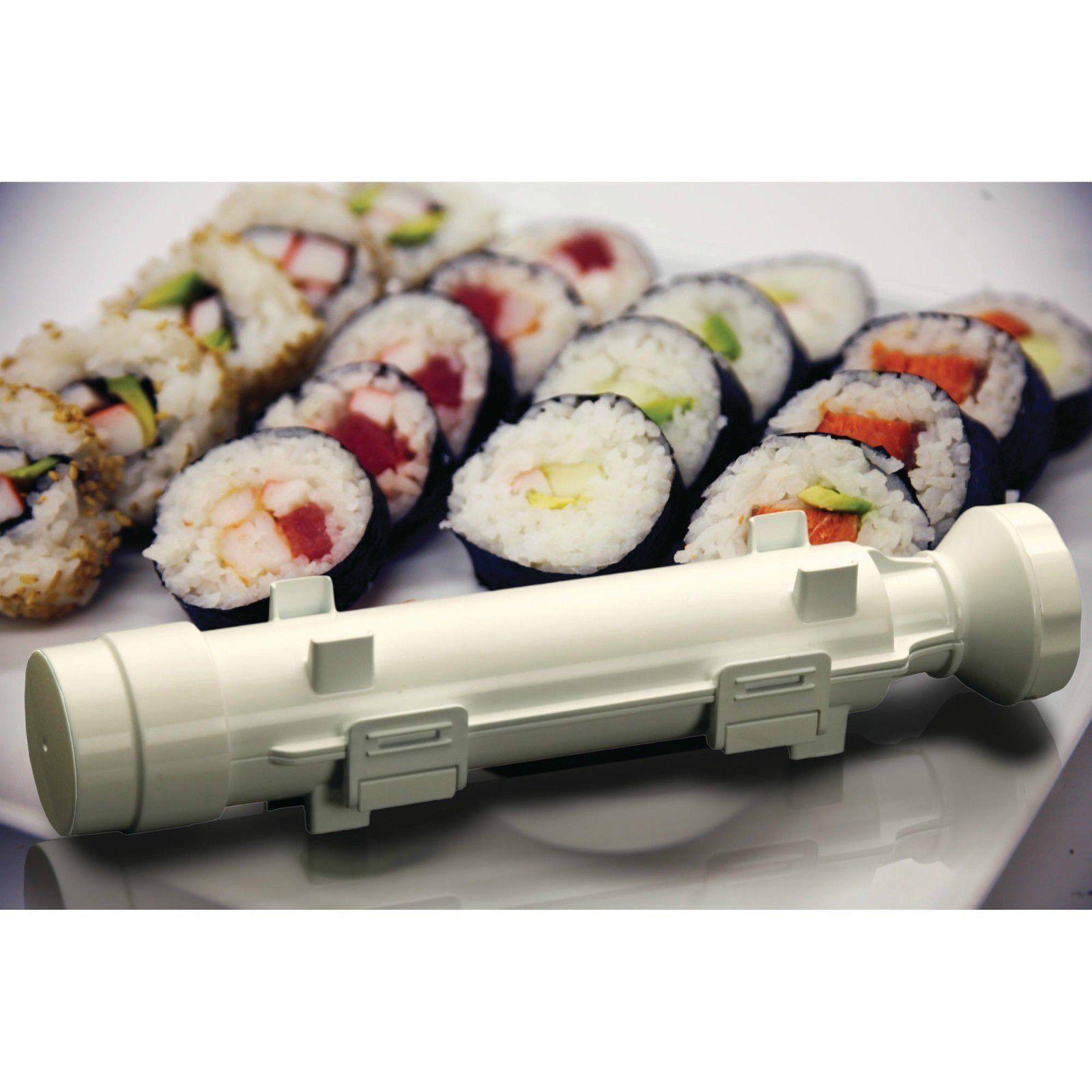 Sushi Maker Kit Rice Roll Mold Kitchen DIY Easy Chef Set Mould Roller