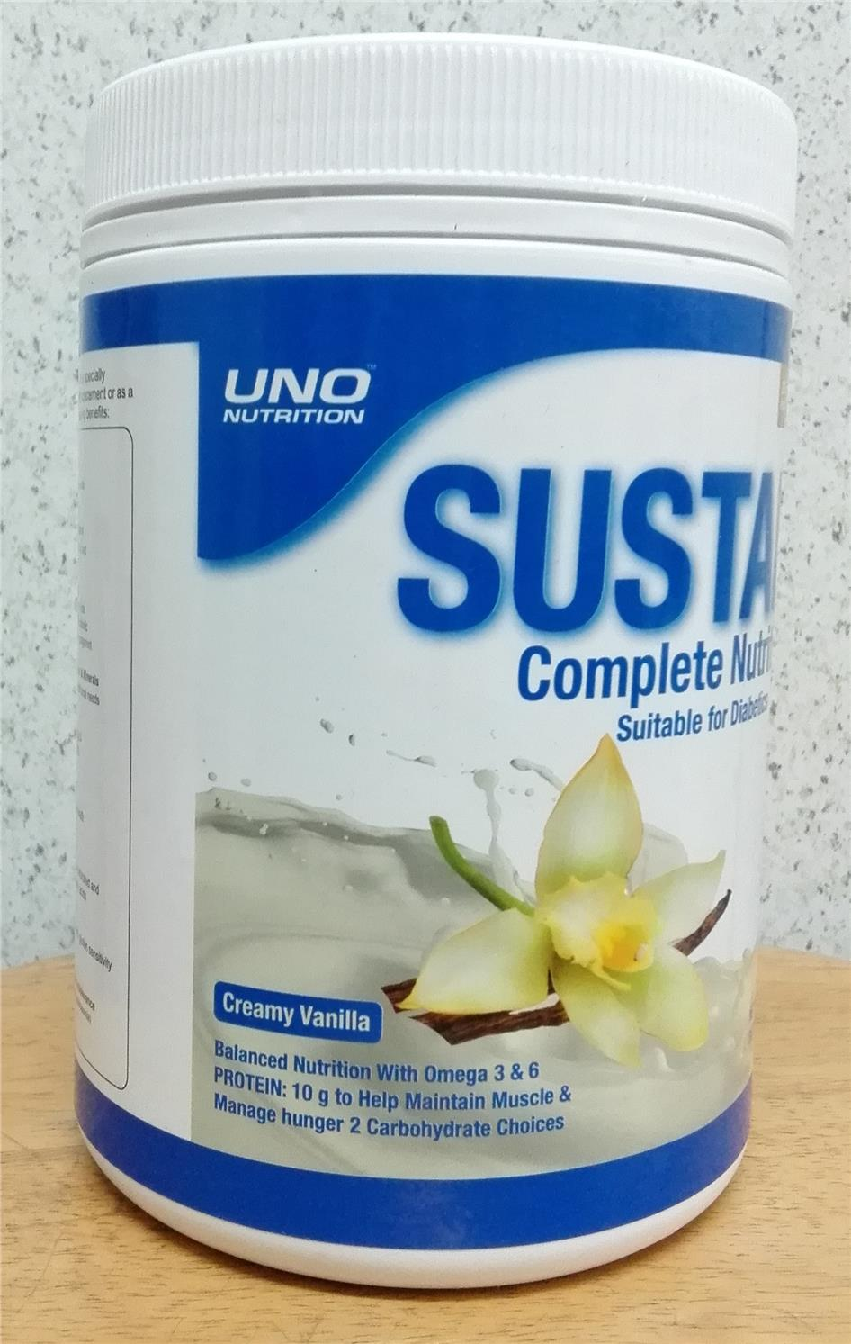 Sustain 400g nutrition for diabetics after Glucerna Abbott milk powder