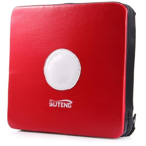 SUTEN WALL PUNCH FOCUS TARGET PAD LEATHER COATED SQUARE FOAM FOR BOXING  KARATE