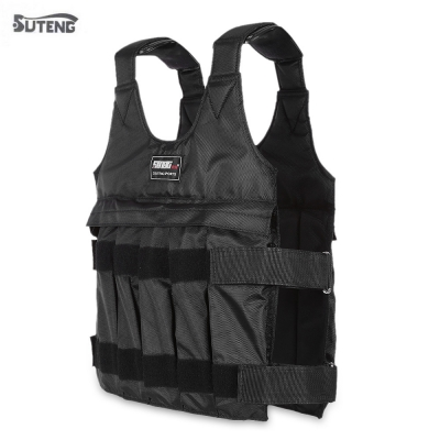SUTENG 50kg Max Loading Adjustable Weighted Vest Fitness Training Jack..