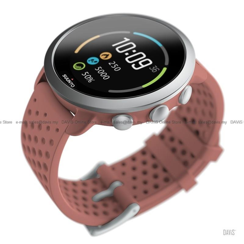 Suunto 3 Smartwatch Activity Sleep Tracking Training Wrist HR