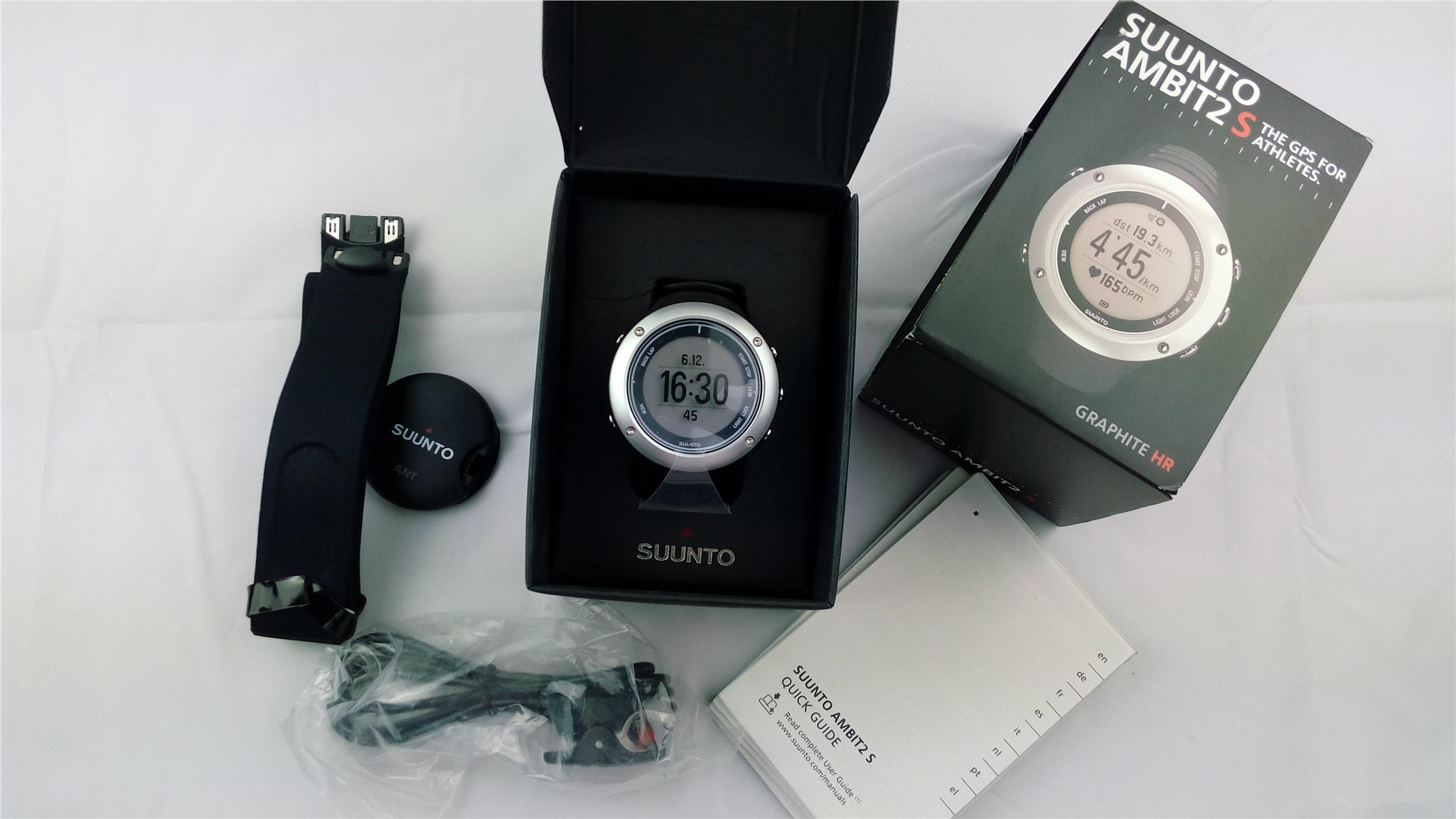 Suunto Ambit2 S Graphite HR The GPS For Athletes Watch