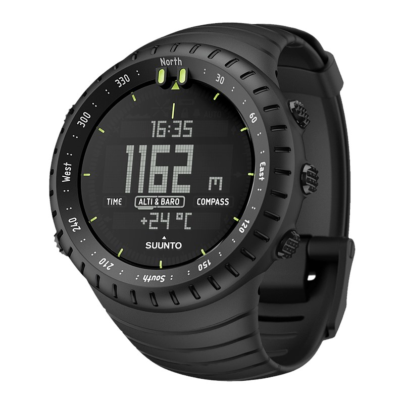 Suunto Core All Black - Men's Digital Outdoor Sports Watch *ORIGINAL*