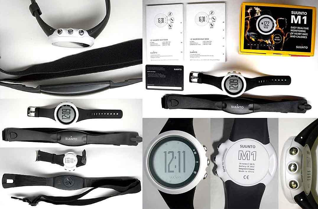 Suunto M1 Black - Heart Rate Monitor Watch