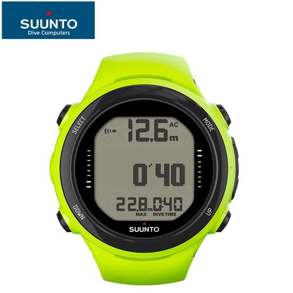 Suunto SS020395000 D4I Novo with USB Lime