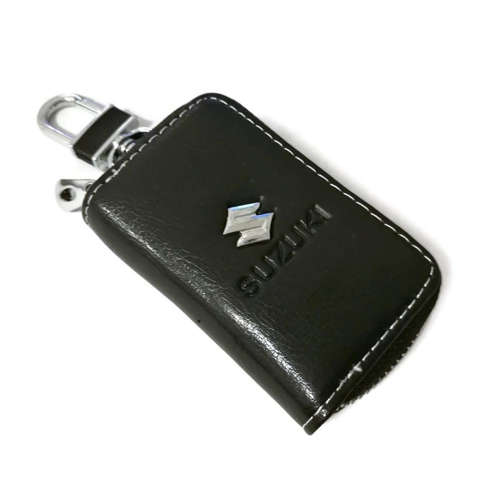 Suzuki Car Key Pouch / Key Chain / Key Holder Genuine Leather(Type A)