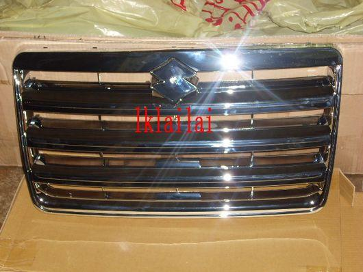 Suzuki Solio '07 Aluminium Front Grille [Chrome Colour]