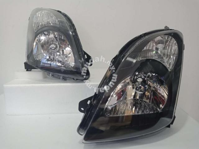 Suzuki Swift head Lamp Crystal Black Taiwan