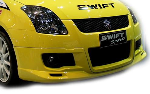 Suzuki Swift Sport Front & Rear Skirt 1 Set [ABS] (SK01-BK04/05-U)