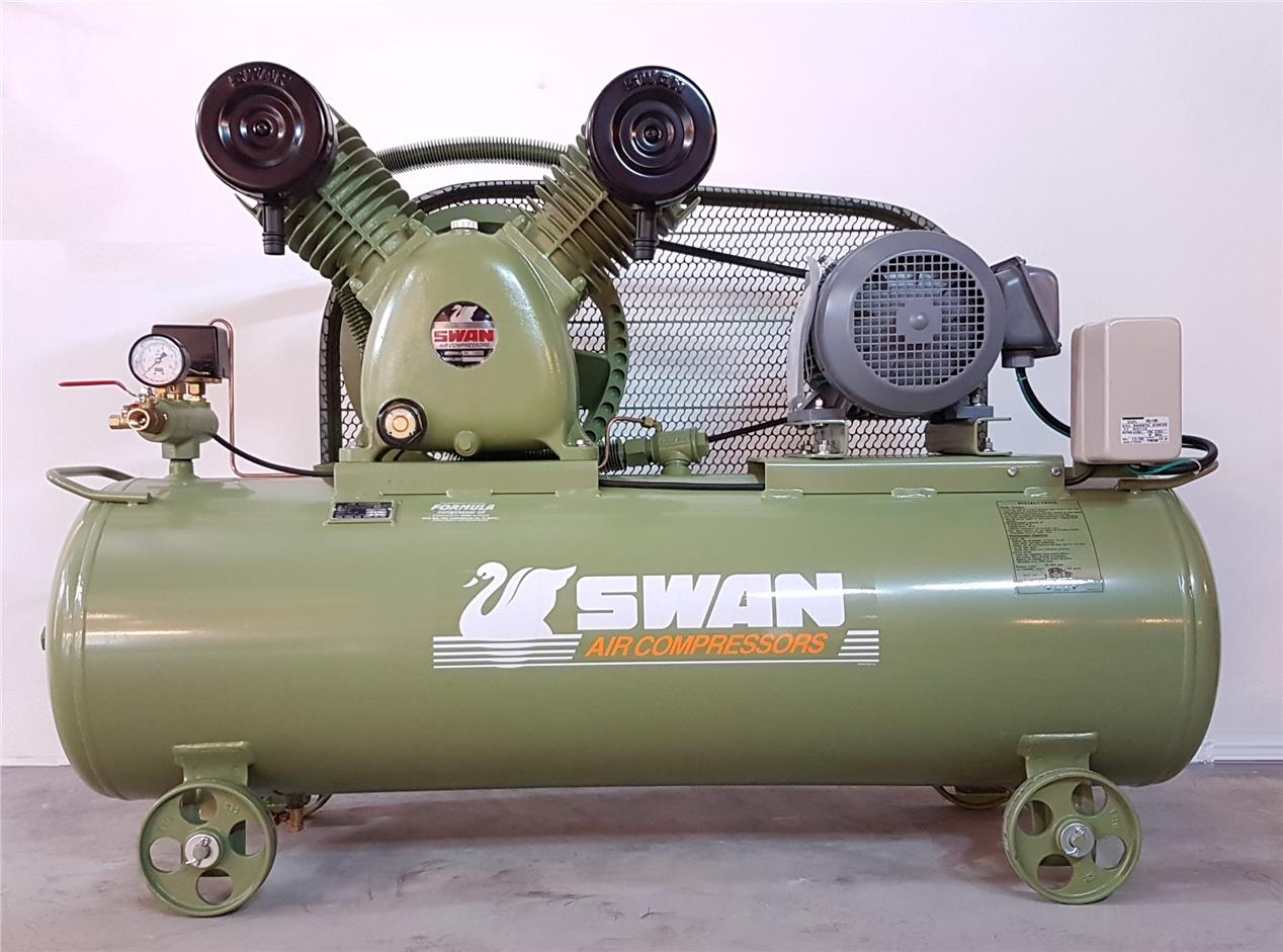 Swan 5hp Air Compressor Svp 25  2021 4 00 Pm