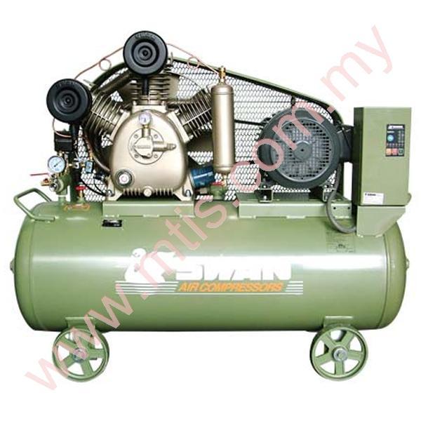 swan high pressure air compressor 16bar 75hp 55kw hwu307n