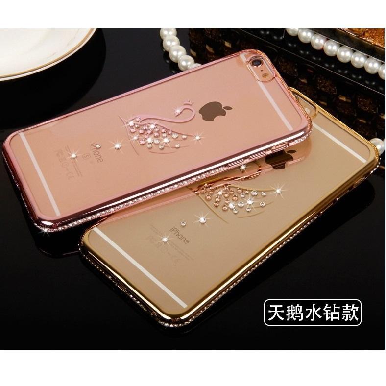 huge selection of 3704e 8c4d8 Swarovski Element Apple iPhone 6 Plus / 6S Housing Case - Swan
