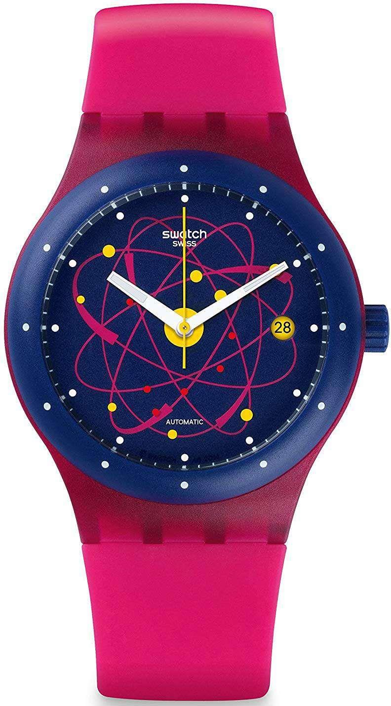 Swatch Originals Sistem Pink Automatic Unisex Watch