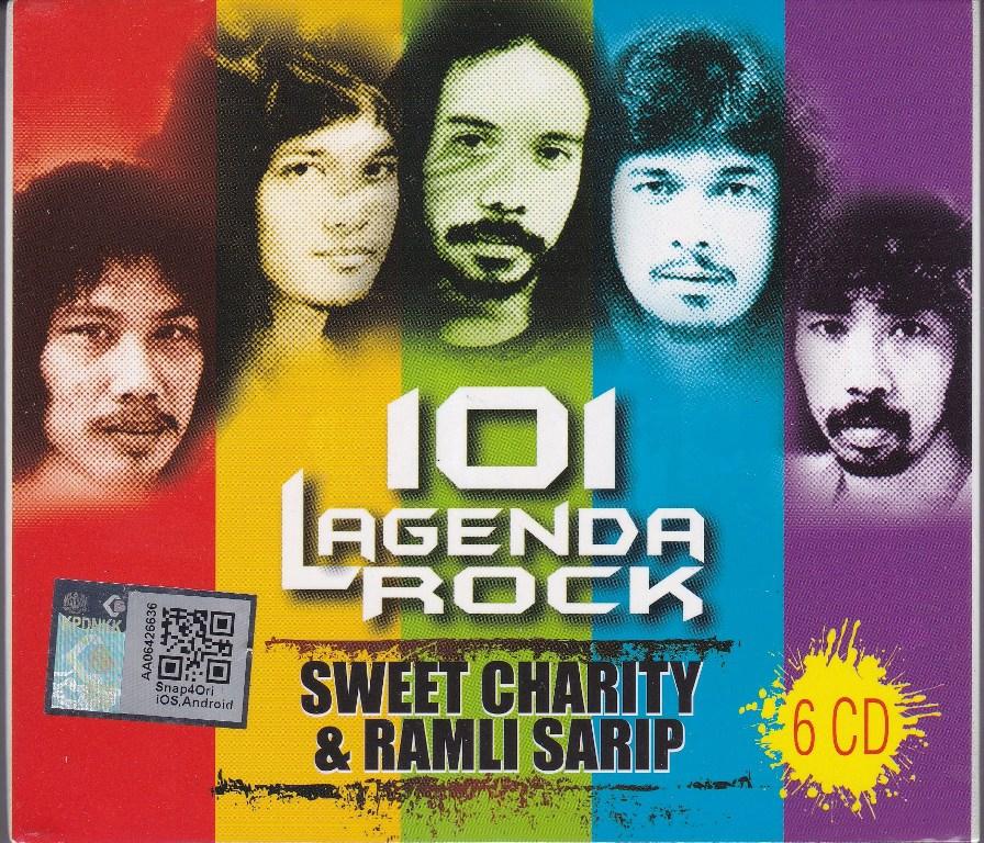 Sweet Charity Dan Ramli Sarip 101 Lagenda Rock 6CD Box Set