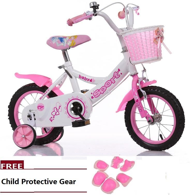 Sweet princess children bike macarons metal Kids bicycle 16 Inch