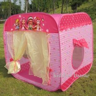 Sweet Princess Square Pink Play Tent & Sweet Princess Square Pink Play Tent (end 7/5/2016 9:21 PM)