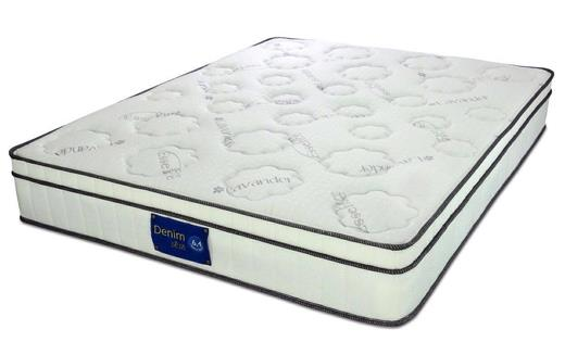 SweetDream Denim Queen Bonnel Spring Mattress