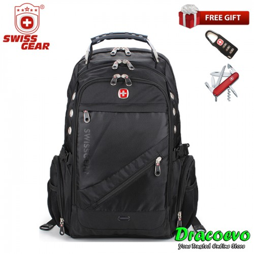 Swiss Gear Laptop 15 6 Inch Travel Outdoor Business Fashion Backpack Bag Sa 14