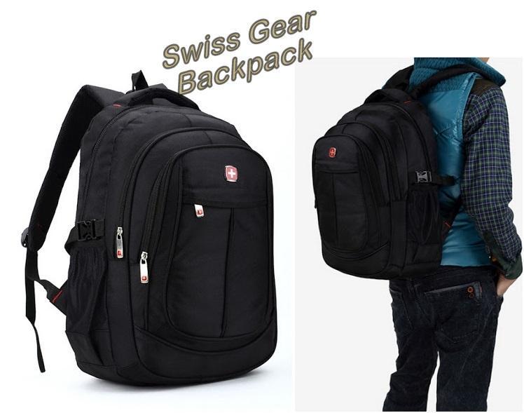 Swiss Gear Backpack Waterproof Click Backpacks