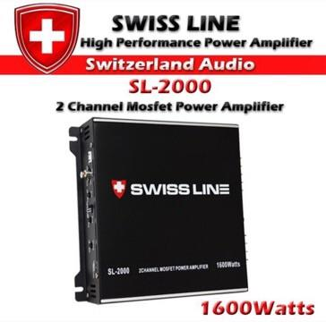 Swiss Line 2 channel car amplifier ( 1600 watt )