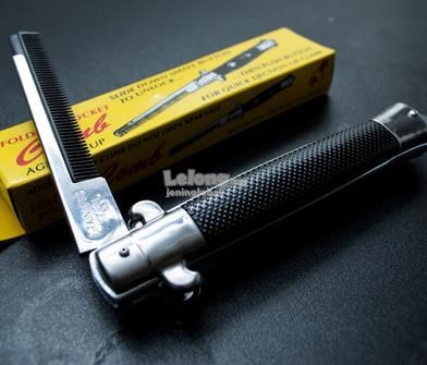 Switchblade Pomade Classic Foldable Comb Pocket Size