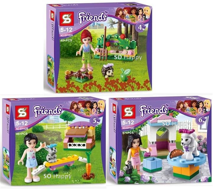 SY152 Friends Series Animals House. U2039 U203a