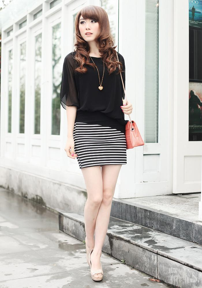 Sy22242 Korean Style Blouse Skirt In End 7 1 2019 12 00 Am