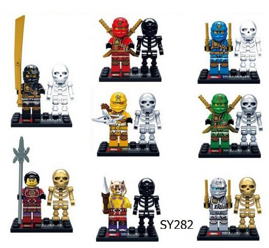 sy282 Ninjago with Skeleton 8 in 1 s (end 5/25/2018 5:15 PM)