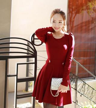 Sy43530 Korea Style Long Sleeve Dres End 3 21 2020 2 15 Pm