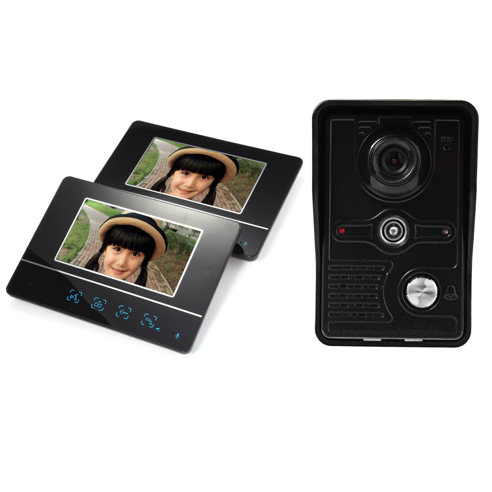 SY811MKB12 7 INCH TFT COLOR LCD SCREEN NIGHT VISION VIDEO DOOR PHONE I..