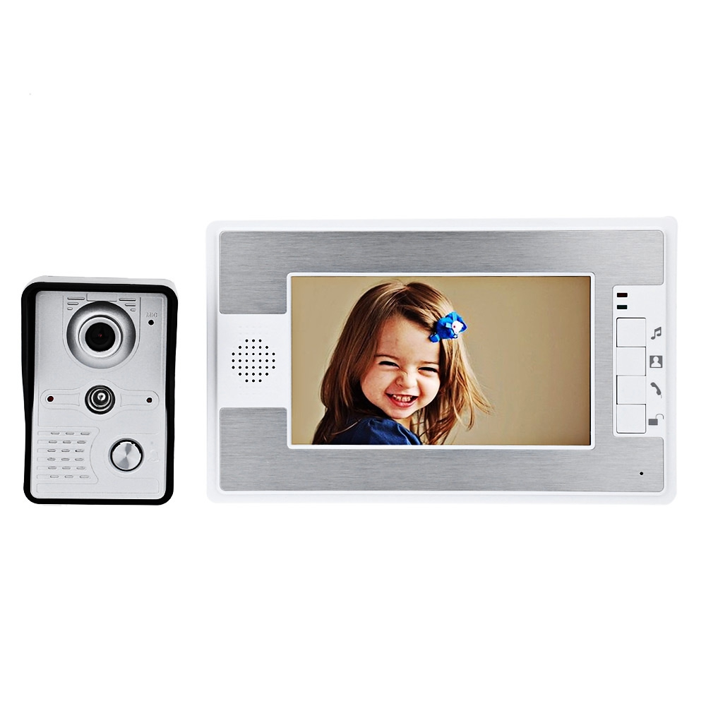 SY812MKW11 7 INCHES TFT SCREEN VIDEO INTERPHONE INFRARED NIGHT VISION ..