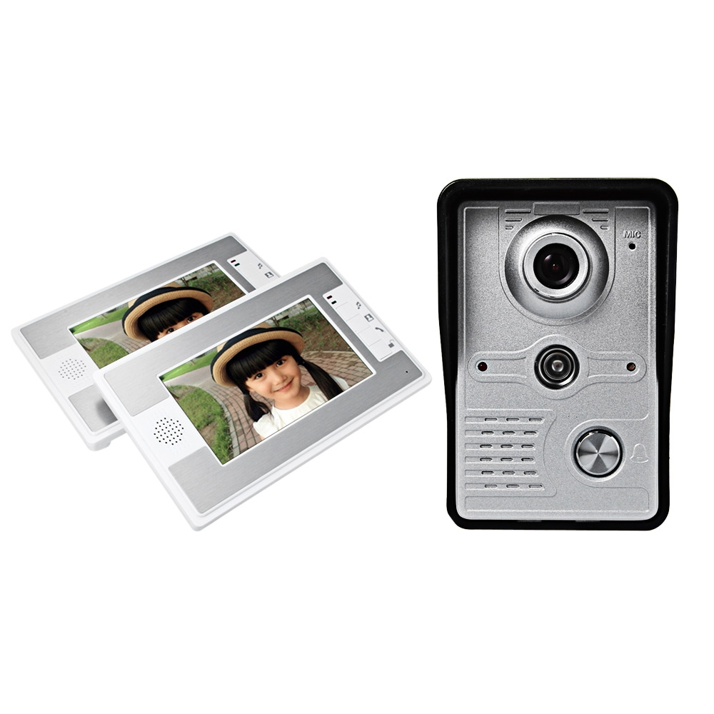SY812MKW12 7 INCH TFT COLOR LCD SCREEN NIGHT VISION VIDEO DOOR PHONE I..