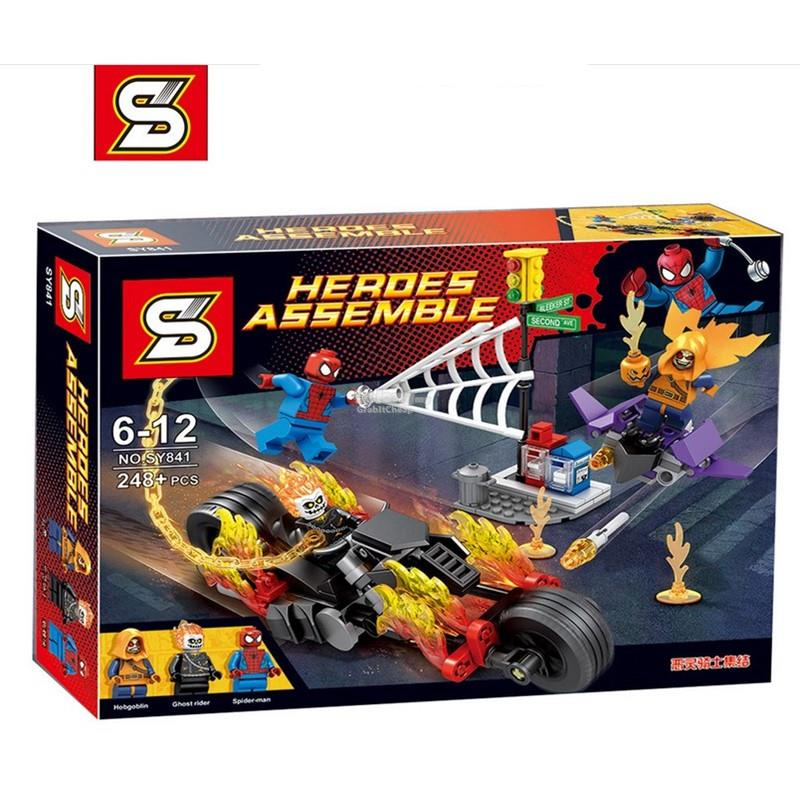 SY841 Marvel Super Heroes Spider-Man: Ghost Rider Team-up