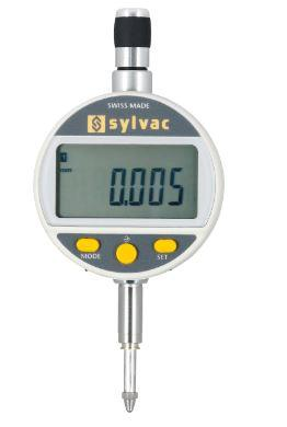 SYLVAC Digital dial indicator 0.001 mm reading 100 mm