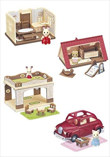 Sylvanian Families - Kabaya Miniature Set with Car