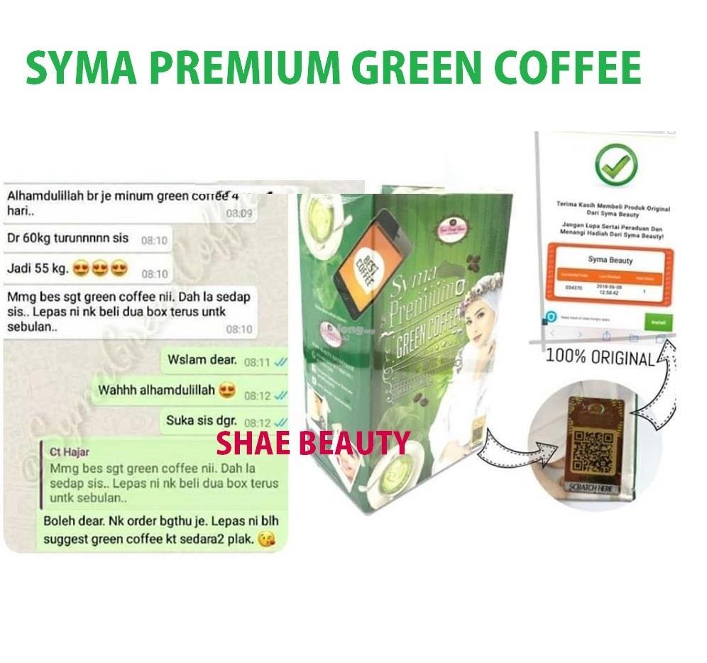 Syma Premium Green Coffee By Syma Beauty