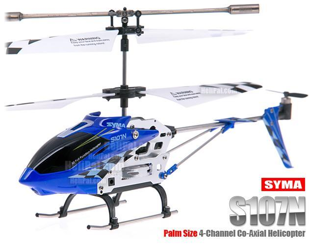 SYMA S107 3.5 Channel FULL METAL ALLOY RC Helicoptor With JOYSTICK