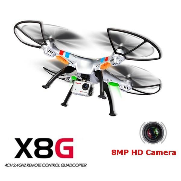 Syma X8G 2.4G Drone Camera 4CH With 8MP HD Camera Headless Mode RC Qua