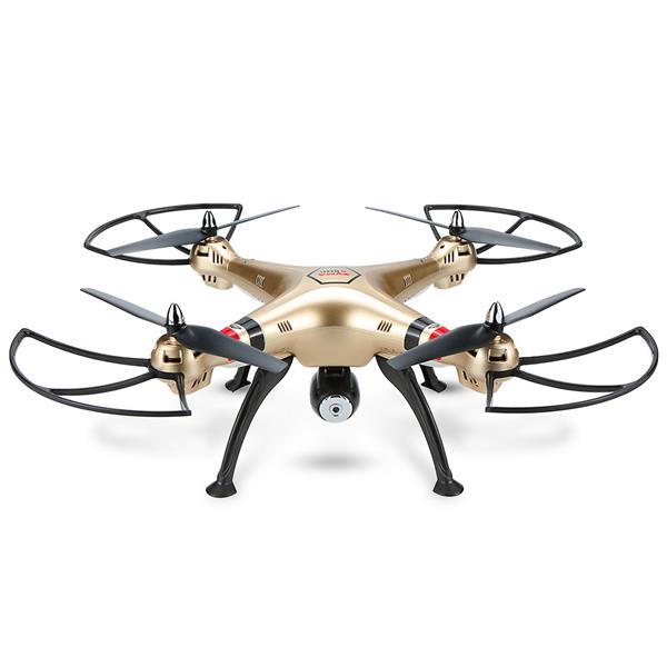 Syma X8HC With 2MP HD Camera 2.4G 4CH 6Axis Altitude Hold Headless Mod