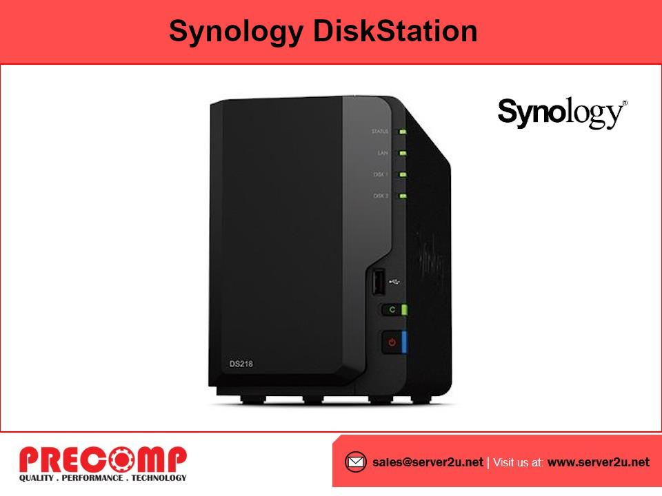 Synology DiskStation (2-bay) (DS218)