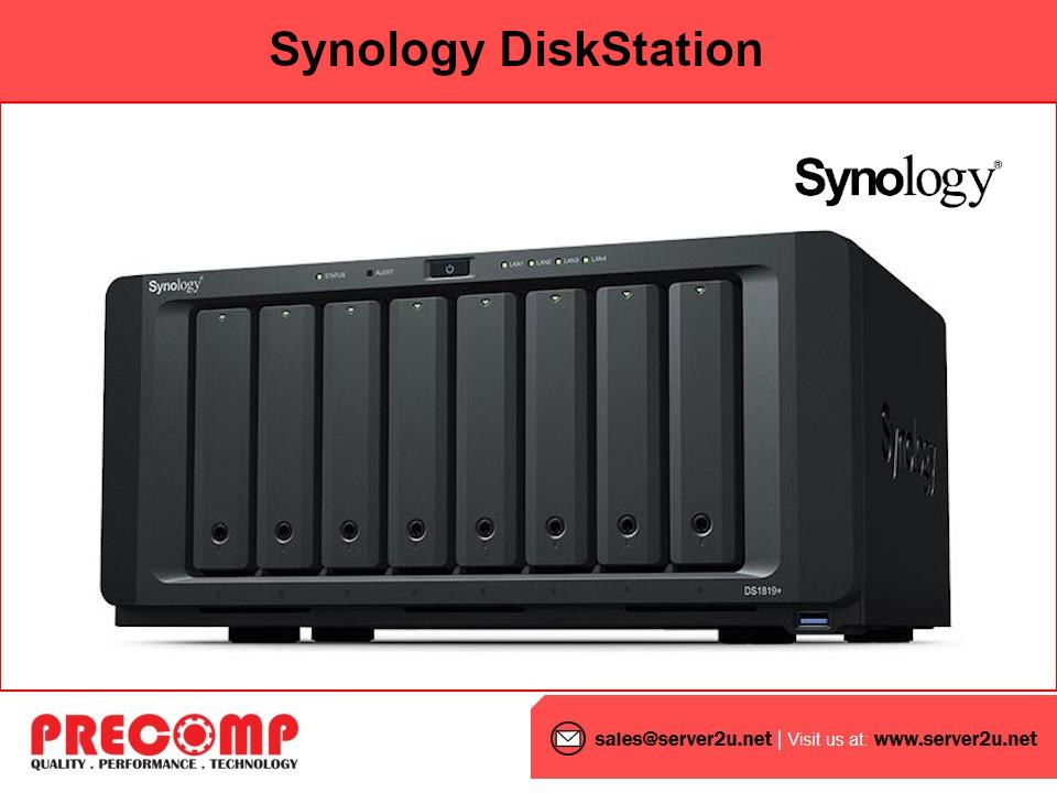 Synology DiskStation (8-bays) (DS1819+)