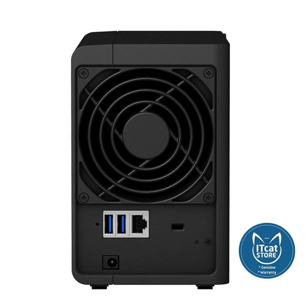 NEW SYNOLOGY DISKSTATION ENTRY-LEVEL 2-BAY NAS - 3YW (DS218J)