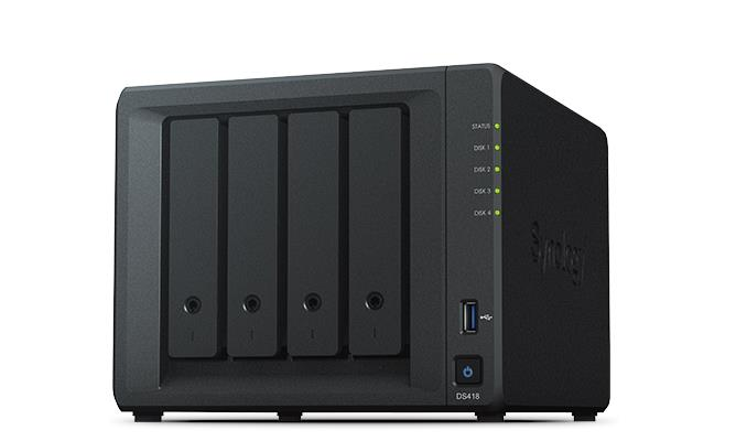 Synology DiskStation NAS (4-bay) (DS418play)