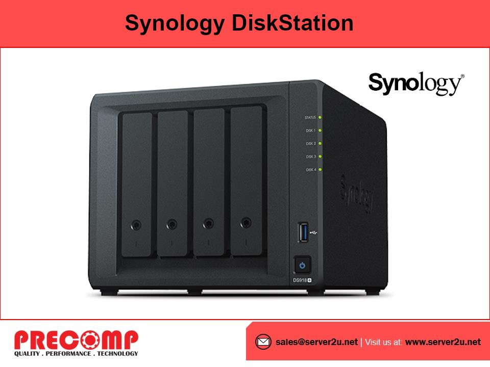 Synology DiskStation NAS (4-bay) (DS918+)