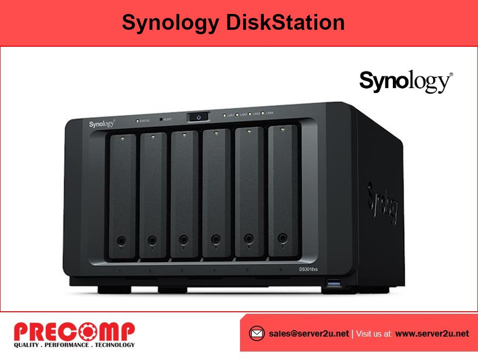Synology DiskStation Powerful (6-bays) (DS3018xs)