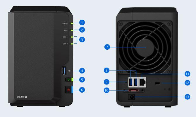 Synology DS218+ (2 years warranty)