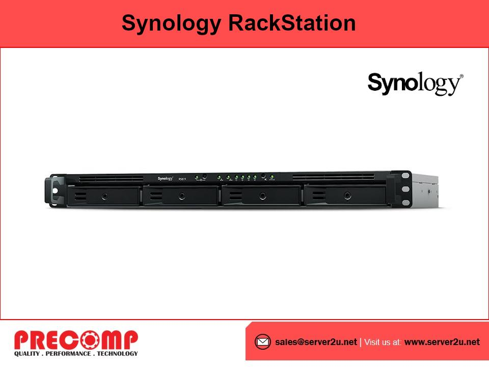 Synology RackStation (4-bays) (RS819)